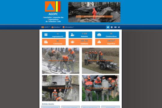 Site réalisé par monxoops : l'AGOPC